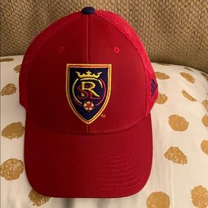 Real Salt Lake adidas fitted hat